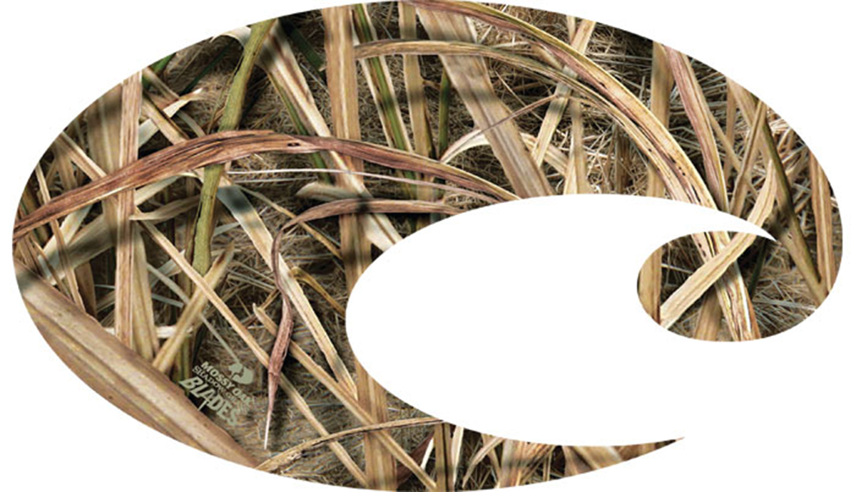 Costa C Decal Mossy Oak Shadow Grass Blades Camo LRG
