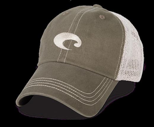 Costa Mesh Hat in Moss Stone