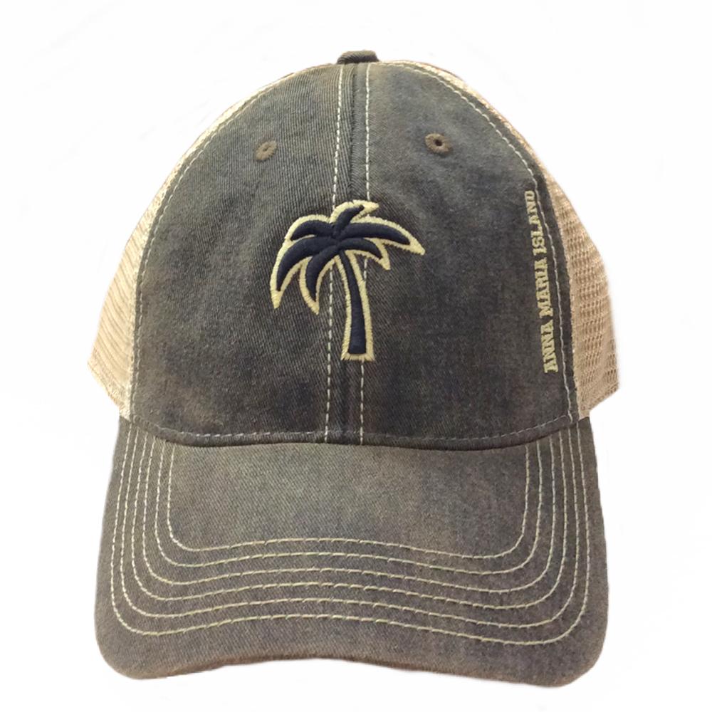 Old Favorite Trucker Legacy Palm Hat - Island Bazaar cb9dfa24a3a