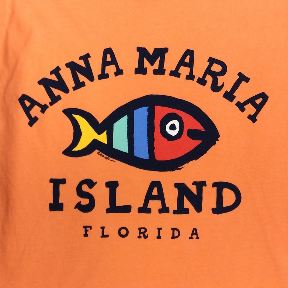 Kids Big Hed Painted Fish T Shirt Island Bazaar